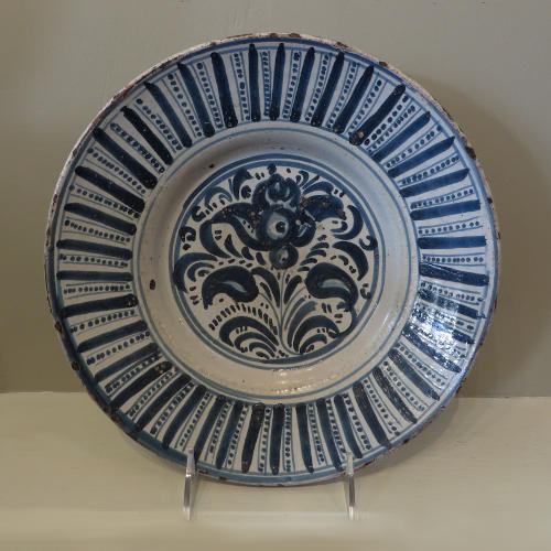 Early Spanish Plate