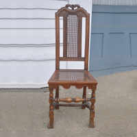 English Cane-Back Chair