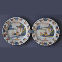 English Delft Plates