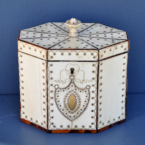 Inlaid Tea Caddy