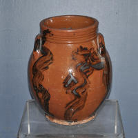 Pennsylvania Redware Jar